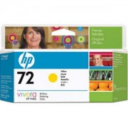 HP 72 (C9373A) 130 ml Yellow Ink Cartridge with Vivera Ink