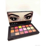 Huda Beauty Textured Eyeshadows Palette Rose gold Edition.
