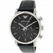 Ceas Emporio Armani barbatesc Classic AR1733 negru Leather Quartz