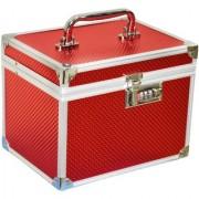 Pride Elegant to store cosmetics Vanity Box (Red)