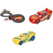 Set pista de joaca Carrera, Disney Cars 3, Fulger McQueen versus Cruz Ramirez, 2.4 m