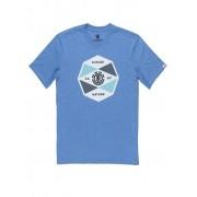 ELEMENT Herren T-Shirt Bisect blau L