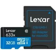 Lexar 932831 Scheda Di Memoria Micro Sd 32 Gb Classe 10 + Adattatore Sd - 932831