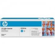 Тонер касета за HP Color LaserJet CP2025, CM2320 MFP Cyan Print Cartridge (CC531A)