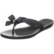 GUESS Women's Tutu Sandal,Black,10 M US