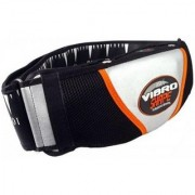 IBS Vibroshaper Ab Ffitness Fat Burner Vibro Shaper Sauna Slim Vibrating Magnetic Slimming Belt (Black)