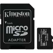 Kingston Canvas Select Plus micro SDHC 32GB Class 10 UHS-I + SD adapter
