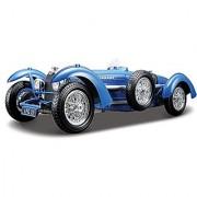 Bburago 1:18 Scale Bugatti Type 59 Diecast Vehicle (Colors May Vary)