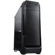 CASE, COUGAR MX331 Mesh, Black /No PSU/ (CG385NC200004)