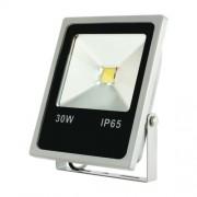 30 W LED fényvető, lapos, szürke, 2700 lm, 4500 K