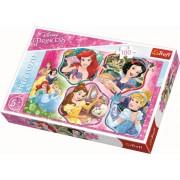 Puzzle Trefl, Printesele Disney, 100 piese