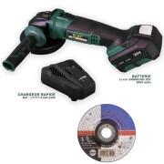 Silex France ® Meuleuse d'angle sans fil Silex® Batterie Li-Ion 5Ah Samsung
