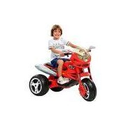 Moto Elétrica Infantil Super Moto GT Turbo Vermelha 12V - Bandeirante