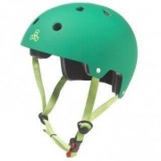 Triple Eight Dual Certified with EPS Liner Kelly Green - Helm