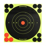 "Birchwood Casey Shoot-N-C Target - 6"""" Bullseye, 12 Pack"