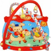 Saltea de joaca pentru copii Baby Mix Horse Carousel