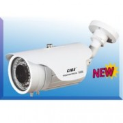 "Аналогова камера CIGE DIS-829MT/EF, насочена (""bullet"") камера, 700 TVL, 6-15mm обектив, IR осветеност (до 45 метра), външна"