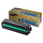 Samsung Originale CLP-680 Series Toner (C506L / CLT-C 506 L/ELS) ciano, 3,500 pagine, 2.45 cent per pagina