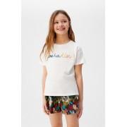 Mango Kids - Tricou copii Paradise 110-164 cm