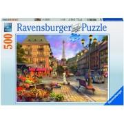 Puzzle plimbare de seara, 500 piese Ravensburger