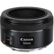 Обектив, Canon LENS EF 50mm f/1.8 STM - AC0570C005AA +Почистващ кит за фотоапарат