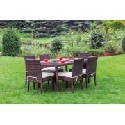 Garden Guidetti set Biella in polyrattan