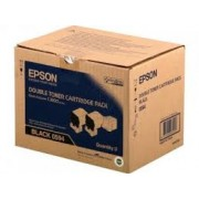 TWIN PACK CARTUS TONER BLACK C13S050594 (2bucX6000pg) ORIGINAL EPSON ACULASER C3900N