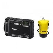 Nikon Produkt z outletu: Aparat NIKON Coolpix W300 Czarny zestaw Holiday