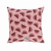 Kave Home Funda cojín Berharnu 45 x 45 cm rosa