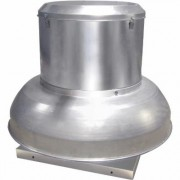 Canarm Direct Drive Downblast Spun Aluminum Exhauster - 10.5 Inch, 1/8 HP, Model ALX105-DD13V