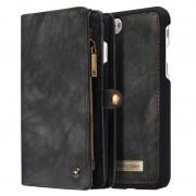 iPhone 7 Plus / iPhone 8 Plus Caseme 2-in-1 Wallet Case - Grey