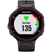 Ceas activity outdoor tracker Garmin Forerunner 235, GPS, HR monitor, Rezistent la apa 5 ATM (Negru/Rosu)