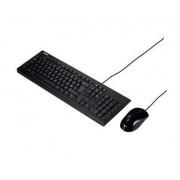 Teclado+Rato Asus U2000 c/fiosBlack USB - U2000