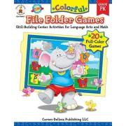Pressnall, Debra Olson Carson-Dellosa 104047 Colorful File Folder Games, Grade PK