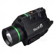 RichFire SF-P30 laser verde 5mW pistola caza CREE XPG2 S4 blanco luz alcance-negro