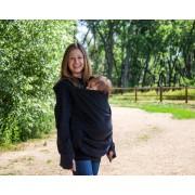 Boba Hoodie Noir : Sweat-shirt de portage