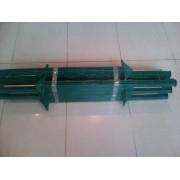 Słupek L 750 zielony
