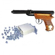 Air Gun Bm-2 Wooden For Perfect Target Practice With 100 Pellets Free