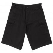 pantaloni scurți bărbați Rothco - MAI LUNG STIL - NEGRU - 7761