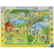 Puzzle Distractie La Zoo, 24 Piese Ravensburger