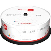 PRIM 2761225 - DVD+R 4.7GB/120Min, 25-er Cakebox