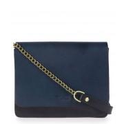 O My Bag Crossbodytas Audrey Mini Chain Blauw