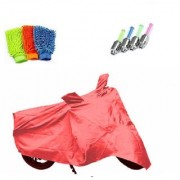 BRB Body cover Dustproof for TVS Scooty Zest 110+ Free (LED Light + Microfiber Gloves) Worth Rs 250