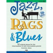 Jazz, Rags & Blues, Book 3: 10 Original Pieces for the Intermediate to Late Intermediate Pianist [With CD (Audio)]