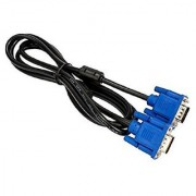 High Quality 15 pin Male to Male Cable Leads Compatible With Pc Monitor