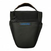 Nueva bolsa de la camara I-T001 para todos los DSLR nikon canon sony olympus - negro