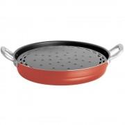 Grill Bialetti Easy Chef Rosu 32 cm