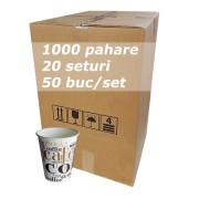Pahar carton 8oz CC SBP bax 1000buc