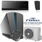 Fisher FSAIF-Art-180AE2-B / FSOAIF-Art-180AE2-B Art oldalfali inverteres klíma 5.3Kw