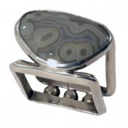 Metro Mod Man Kentucky Agate Gray Orbit US 12.5 UK Z Ring MR-AGGO323